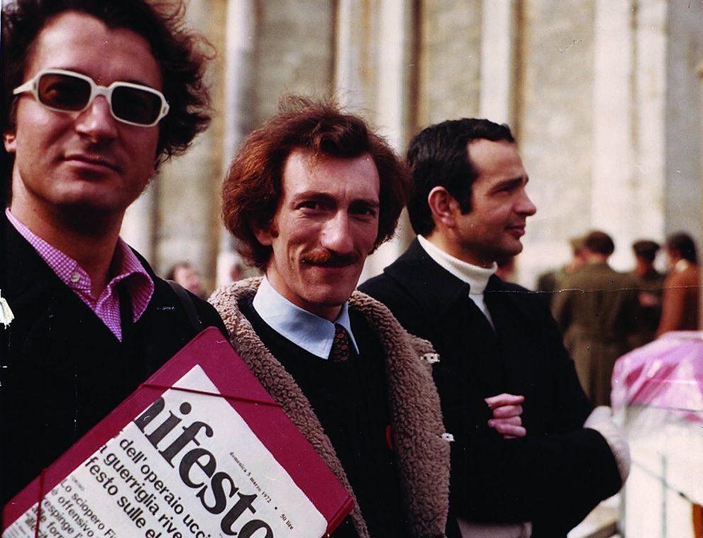 Angelo Pezzana, Enzo Francone / foto di Archivio del «Fuori!»