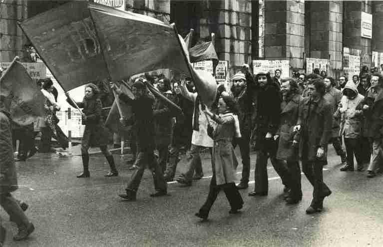 Genova anni '70, foto di Giorgio Moroni (archiviomovimenti.org)