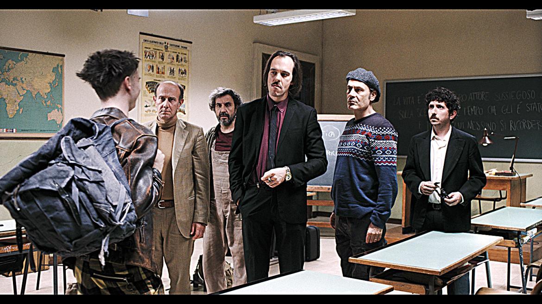 Una scena da «Comedians» di Gabriele Salvatores