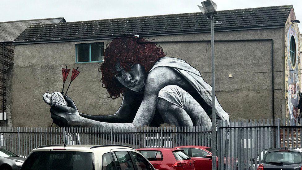 Street art per le strade di Belfast