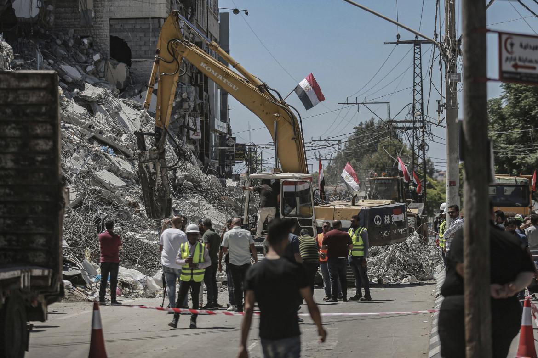 Ruspe egiziane a Gaza