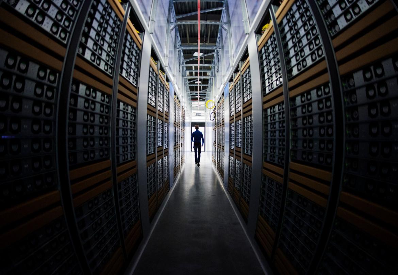 Una server room