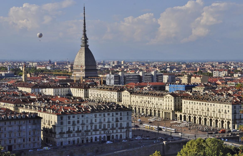 Una veduta di Torino