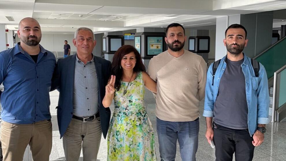 I cinque pacifisti bloccati a Erbil