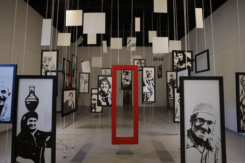 Installazione dal padiglione egiziano «The Blessed Fragments» alla Biennale di architettura 2021