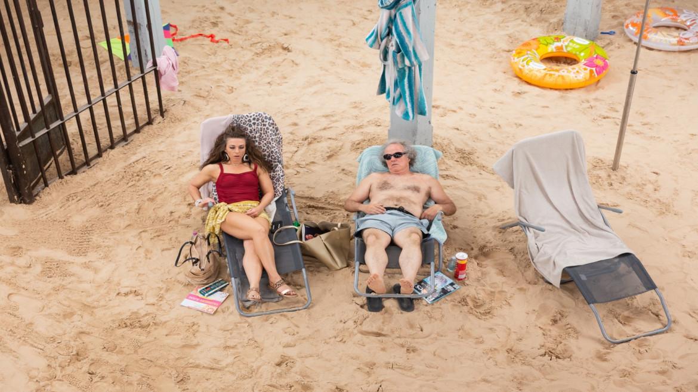 Una scena da «Sun & Sea»