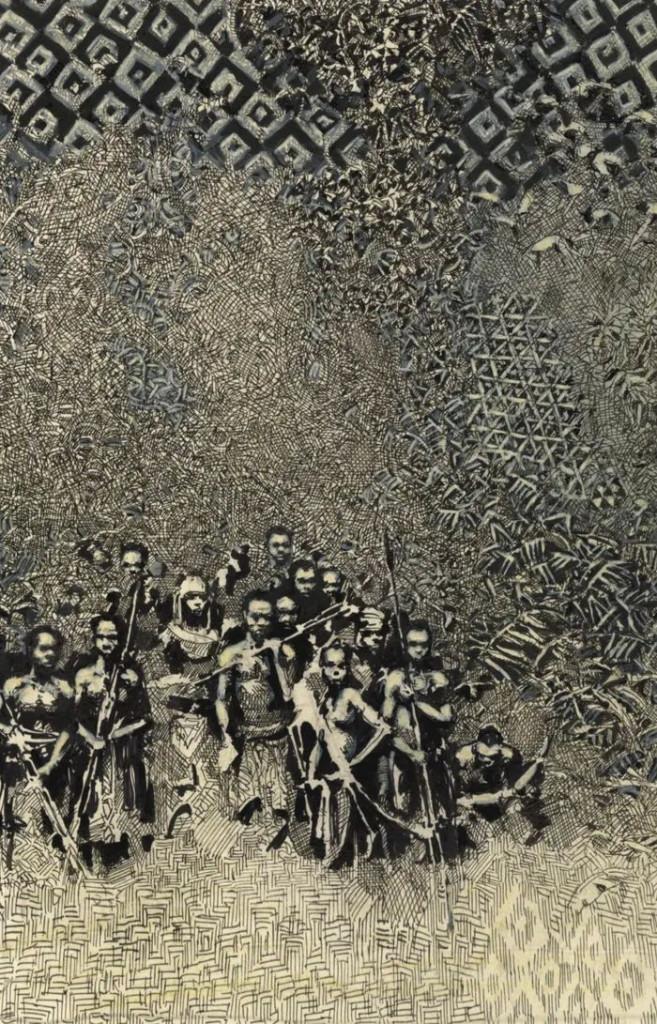 Illustrazione per «Cuore di tenebra» di Max P. Häring