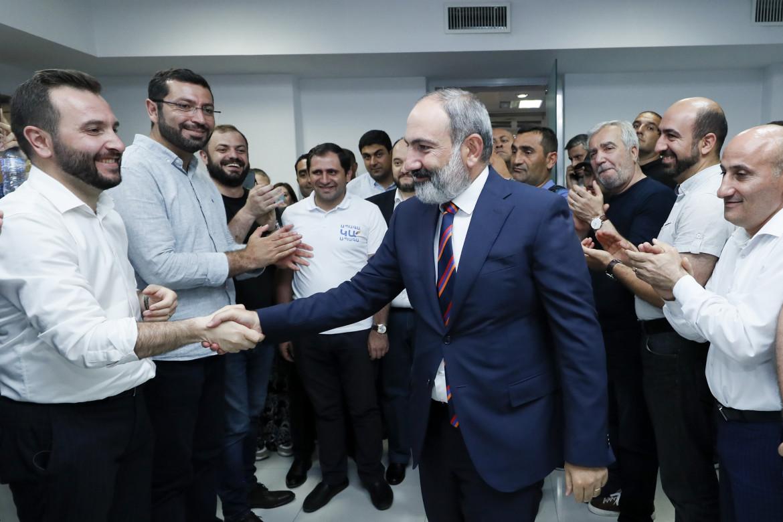 Il premier armeno Nikol Pashinyan