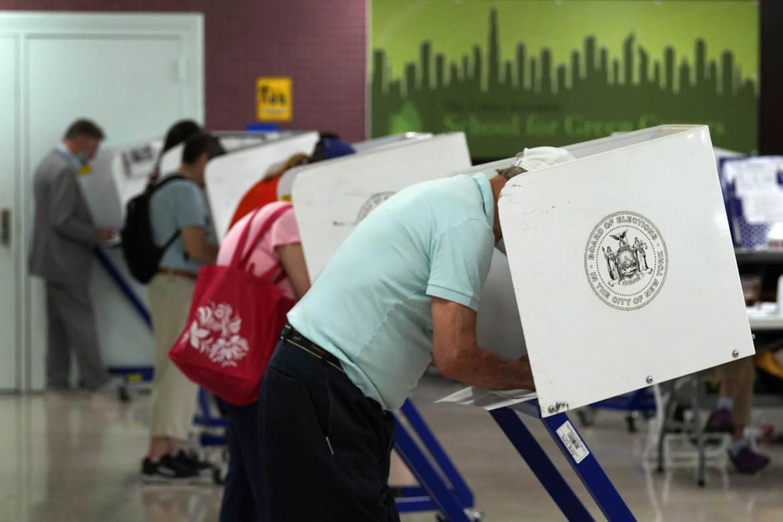 Le urne per le primarie a New York