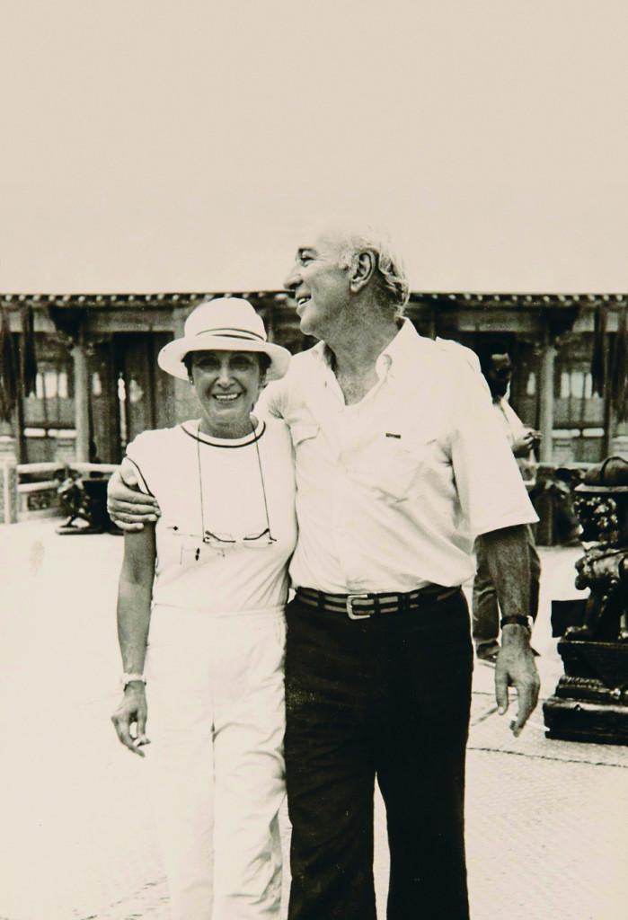 Giuliano Montaldo e Vera Pescarolo