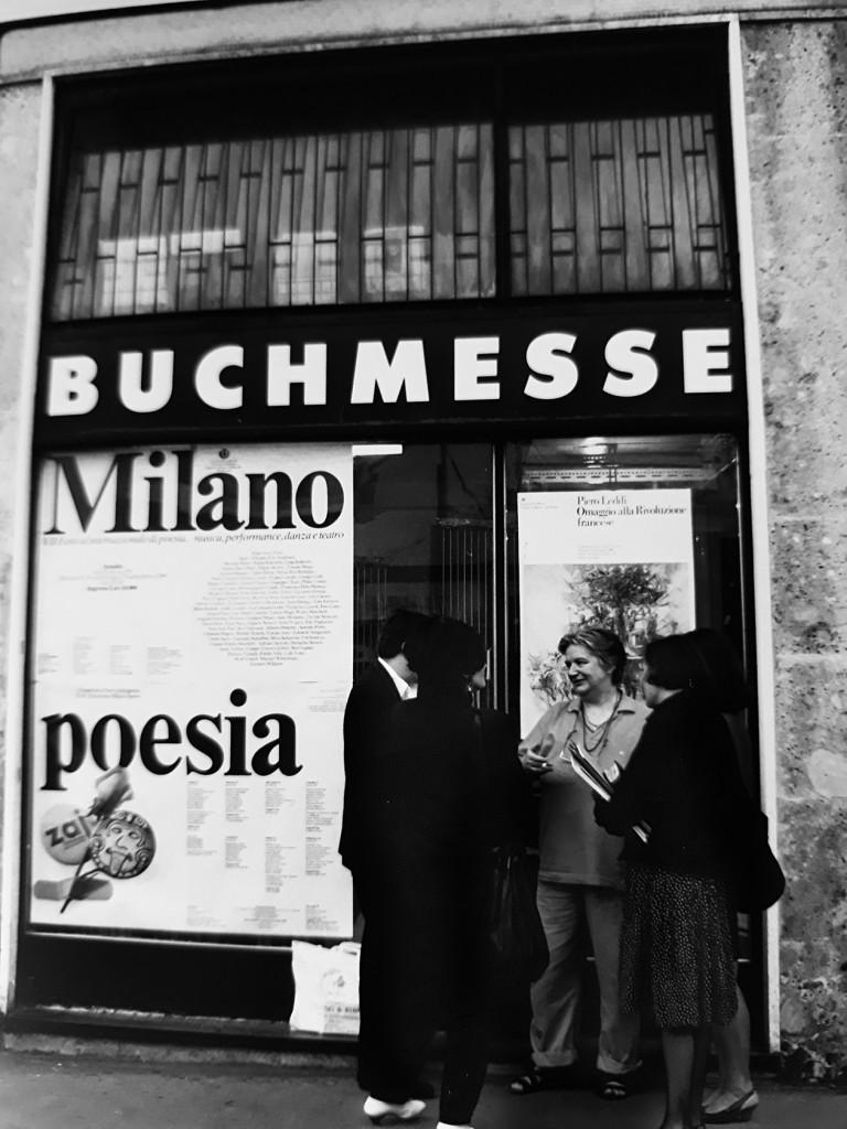 Giulia Niccolai a Milanopoesia foto di Antonio Ria, si ringrazia Anna Ruchat