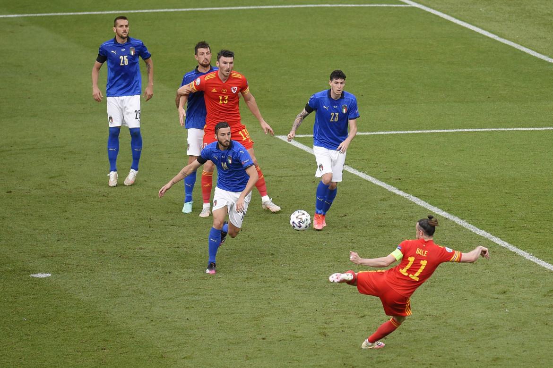 Italia Galles 1-0