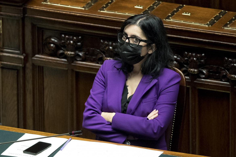 La Ministra delle politiche giovanili Fabiana Dadone