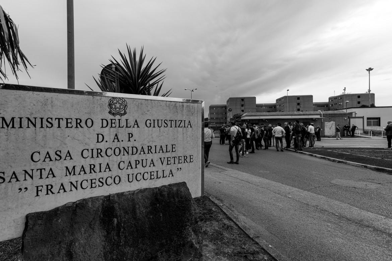 Il carcere di Santa Maria Capua Vetere (Caserta)