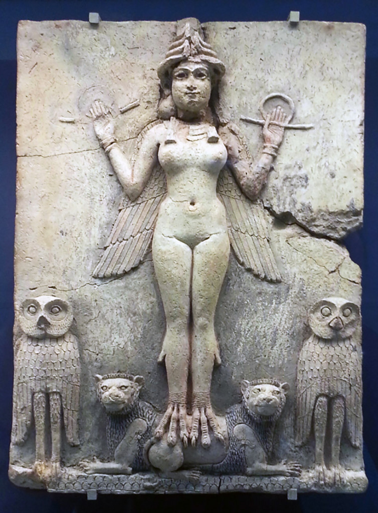 La dea mesopotamica Inanna/Ishtar