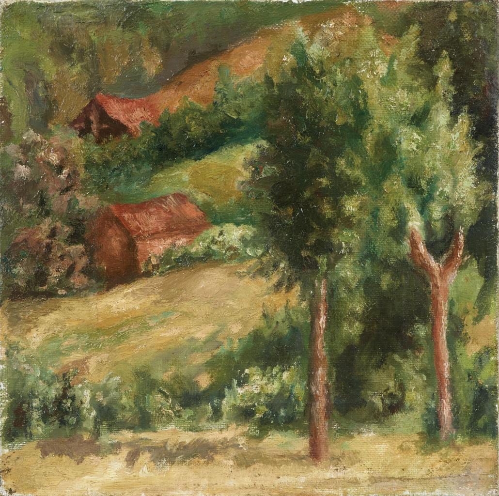 Giorgio Morandi, Paesaggio, 1927, collezione privata