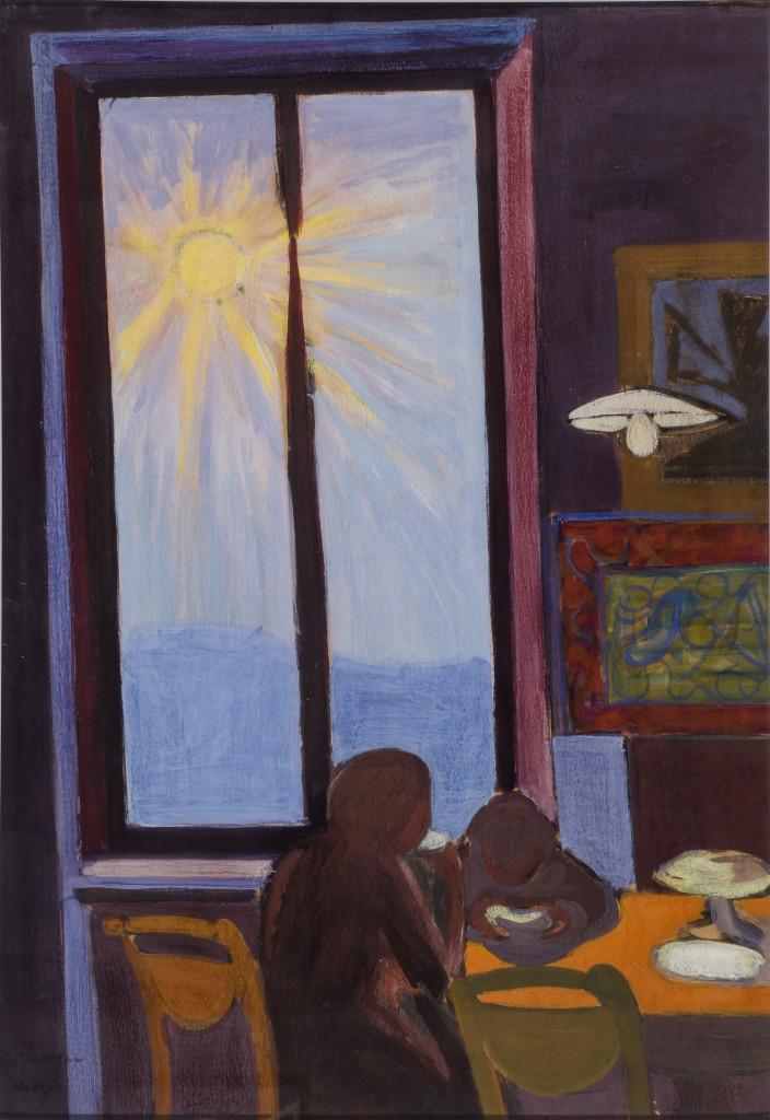 Francesco Menzio,  La colazione, 1947, Collezione privata