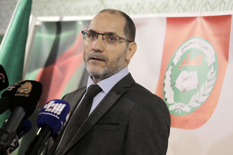 Abderazzak Makri, leader dell'islamista Movimento per la società e la pace