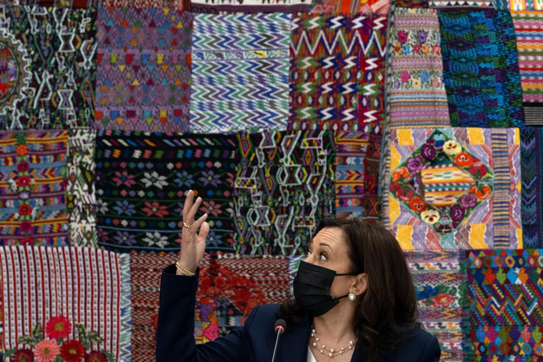 Kamala Harris in Guatemala