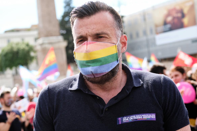 Alessandro Zan, primo firmatario della legge contro l'omotransfobia