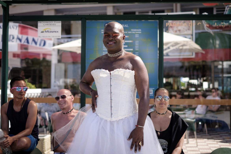 Parata dell'orgoglio lgbt a Gran Canaria