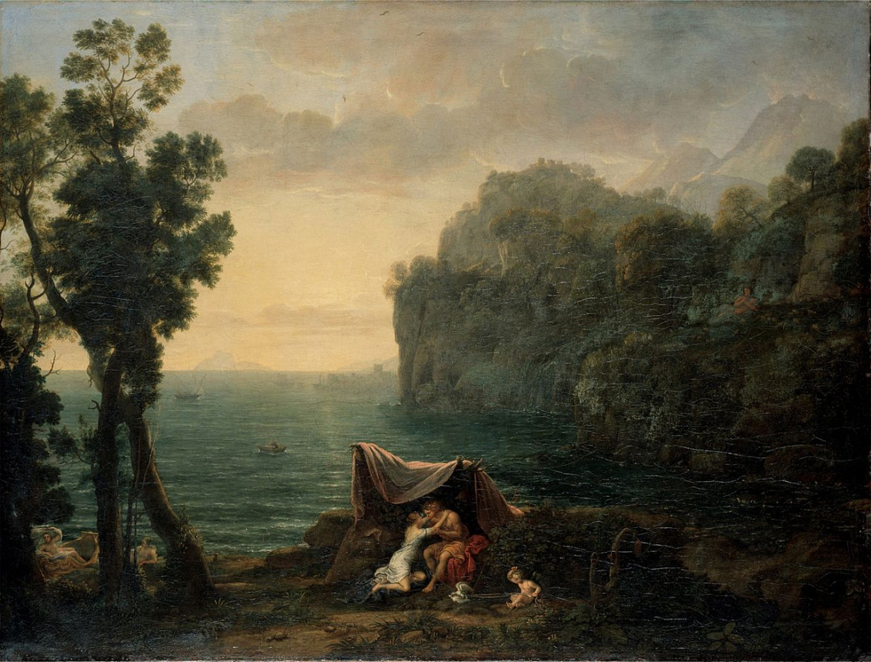 Claude Lorrain, «Aci e Galatea», 1657
