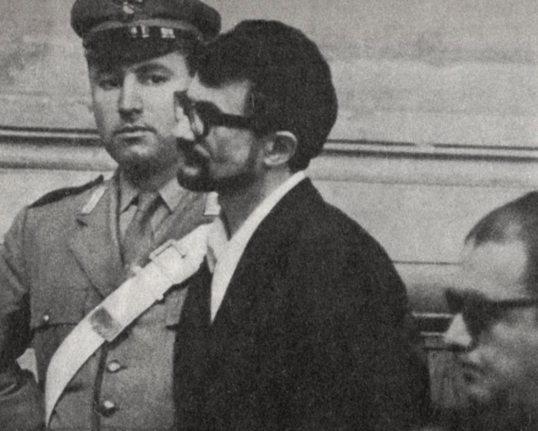 Aldo Braibanti in una foto d'epoca