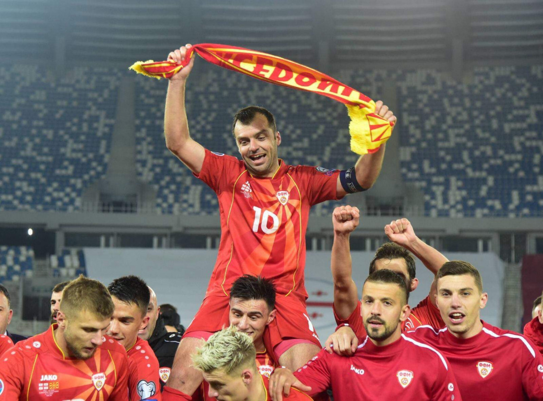 Goran Pandev, capitano della nazionale macedone