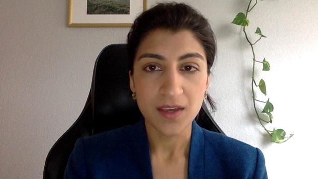 Lina Khan, presidente della Federal Trade Commission