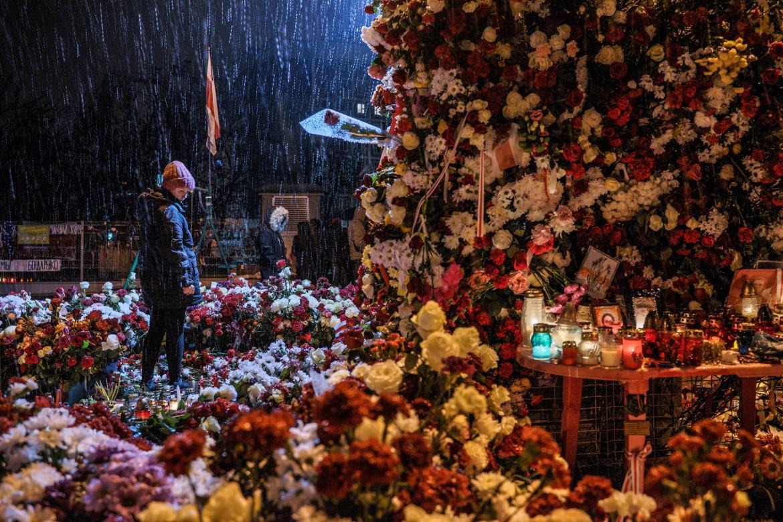 Il funerale del graffitaro Roman Bondarenko, foto di Kseniya Haloubovich