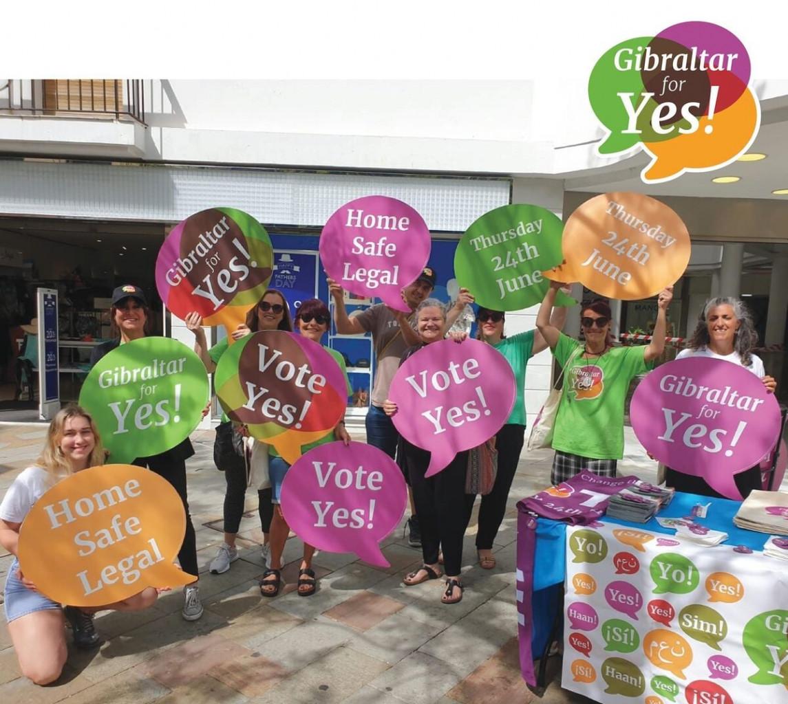 Gibilterra, la campagna per il sì al referendum sull'aborto