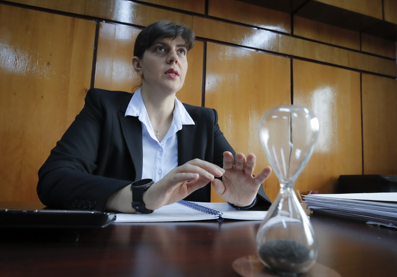 La magistrata rumena Laura Kövesi