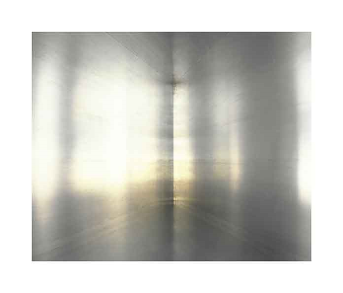 «Untitled» (100 Untitled Works in Mill Aluminum, 1982-1986, #01)