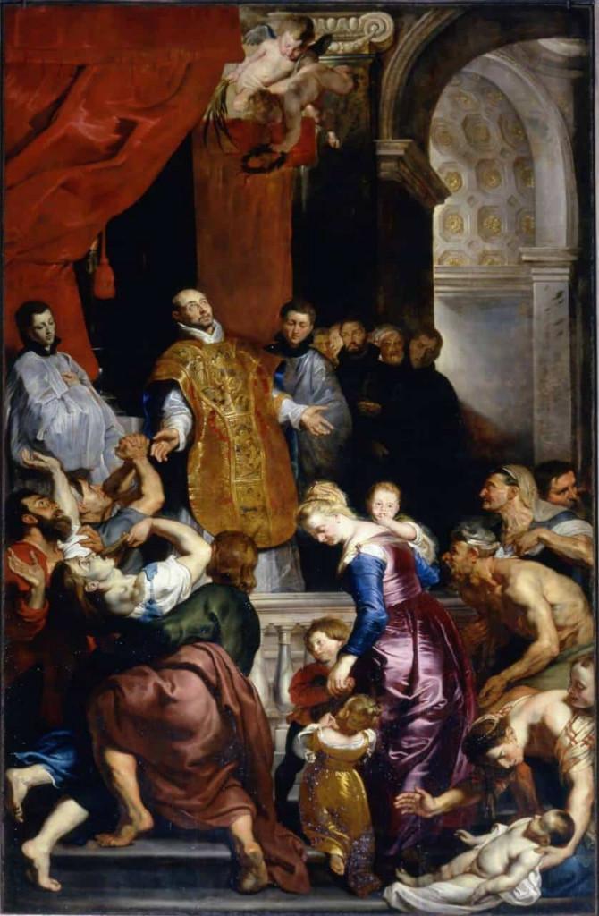 I miracoli di Ignazio da Loyola, Rubens