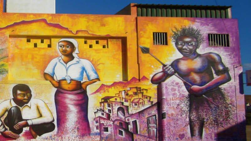 Murale capoverdiano