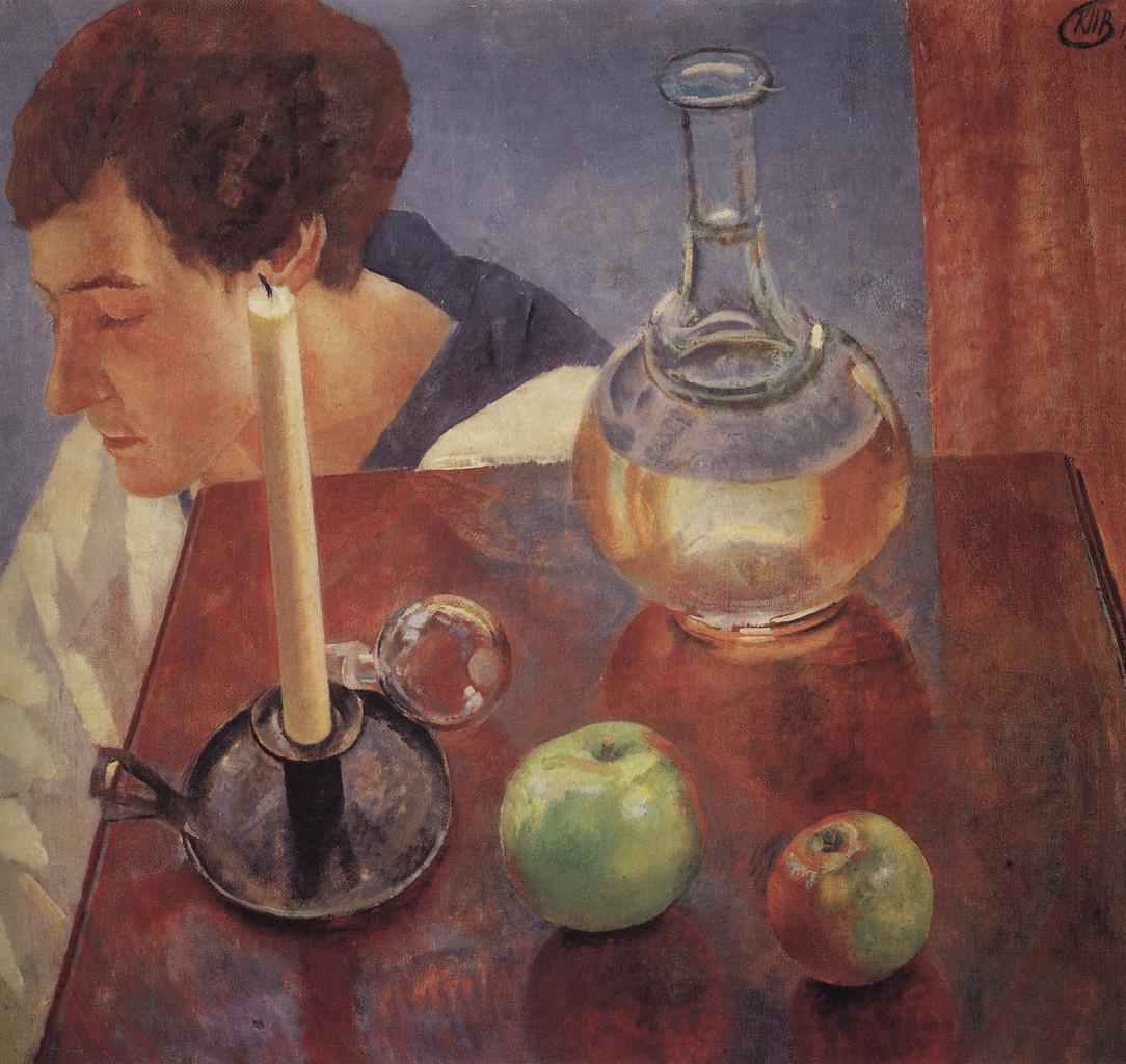 Kuzma Petrov-Vodkin, «Natura morta», 1918