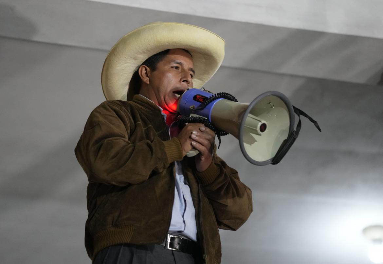 Pedro Castillo, il nuovo presidente peruviano