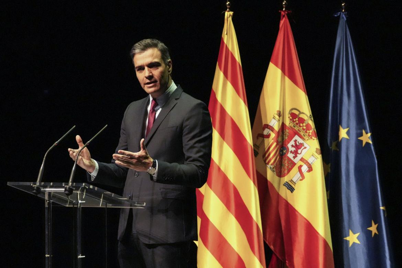 Il discorso di Pedro Sánchez al Teatro del Liceu di Barcellona