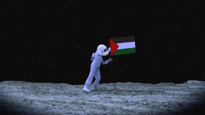 Larissa Sansour, «A Space Exodus»