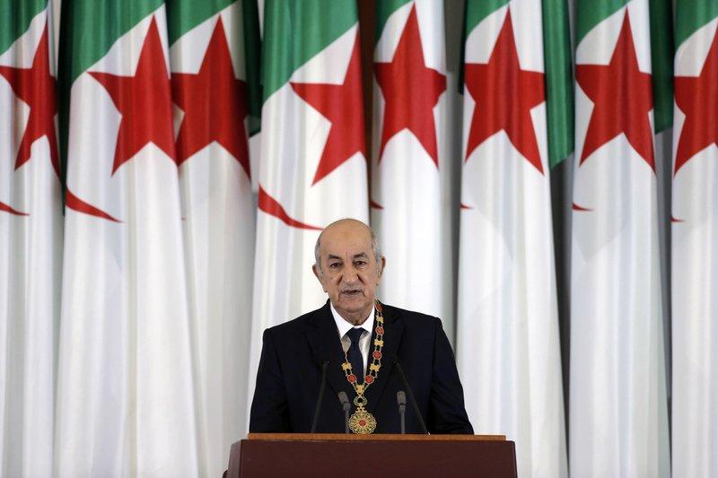 Il presidente algerino Tebboune