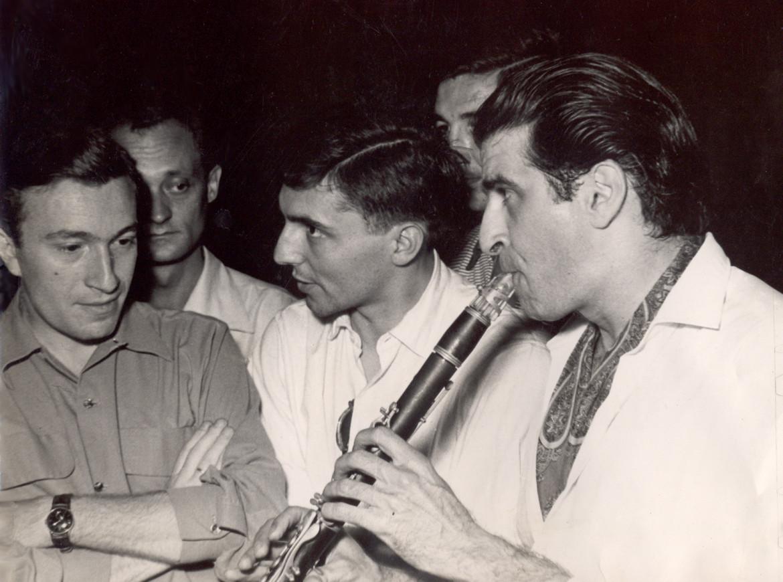 Tony Scott al clarinetto