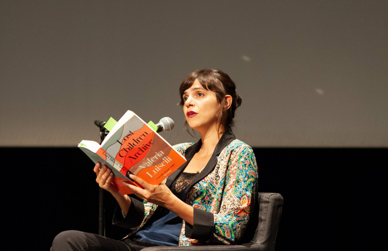 Nella foto, Valeria Luiselli