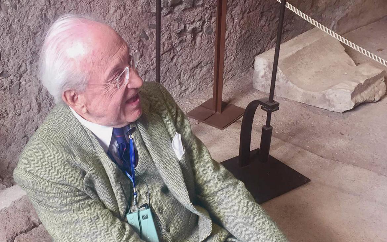 L'archeologo  Andrea Carandini, presidente del FAI dal 2013