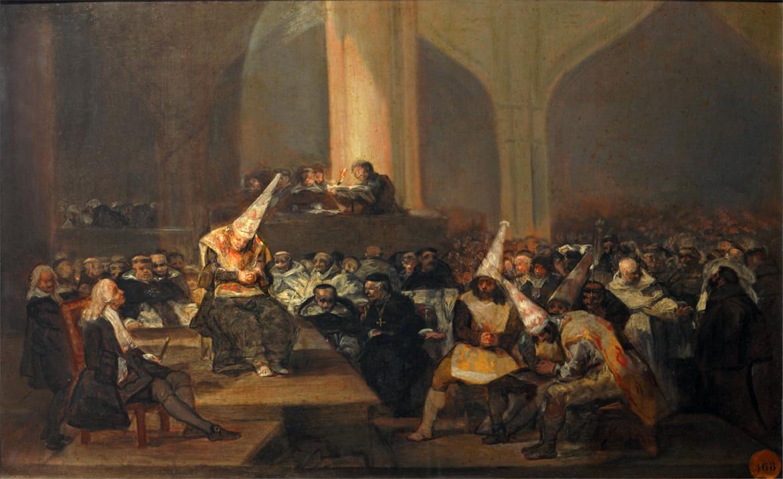 Goya, Scene da una Inquisizione