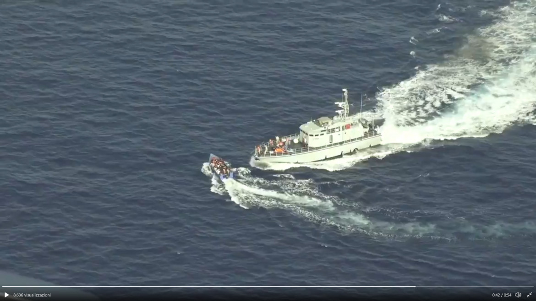 Fotogramma del video di Sea-Watch