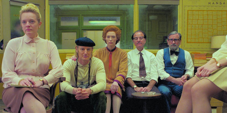 Una scena da «The French Dispatch» di Wes Anderson