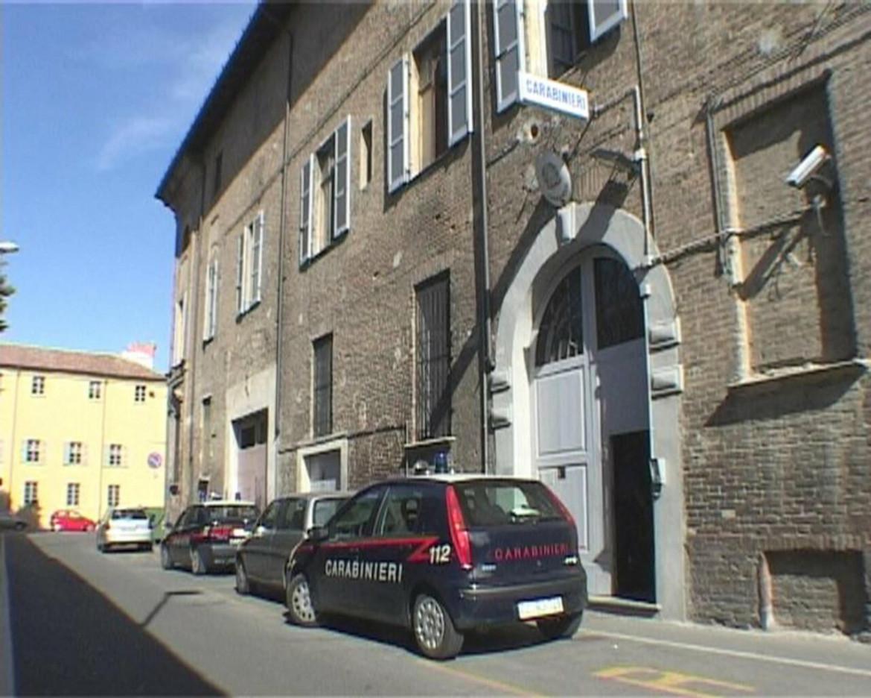La caserma dei carabinieri di Piacenza