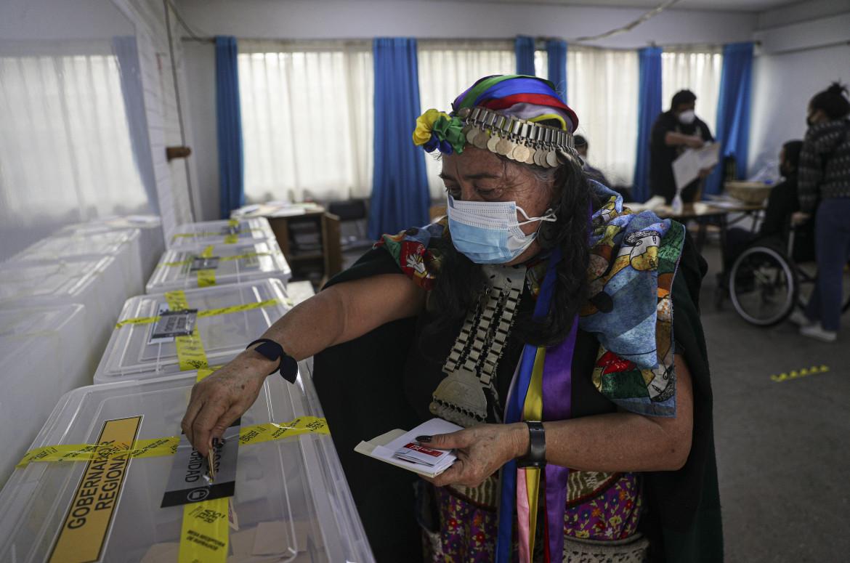 Il voto per l'assemblea costituente cilena, lo scorso 16 maggio
