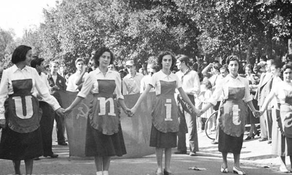 Festa dell'Unità a Roma, 1948 (archivio Pci)