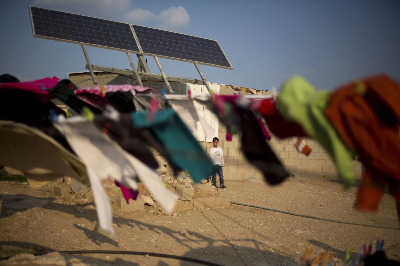 In un villaggio beduino non riconosciuto del Neghev